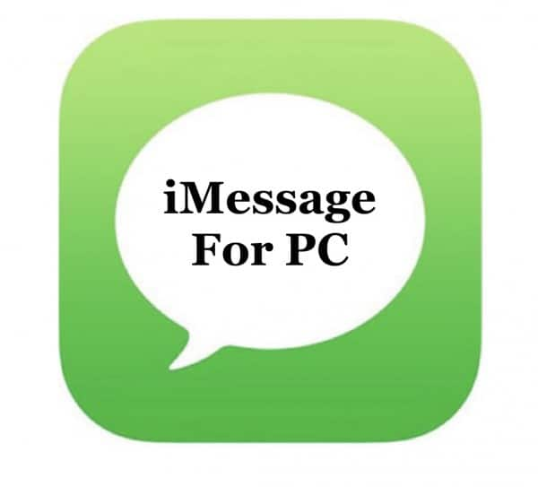iMessage-for-PC iMessage for PC Mac Download: Windows 8.1/7/10