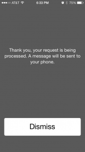 iphone information request