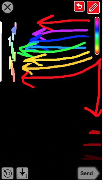 snapchat colors secrets