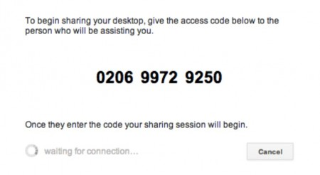 remote desktop access code