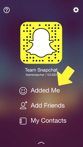 snapchat search friends