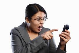 Angry Phone Lady