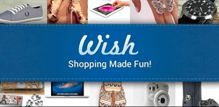 Wish online shopping