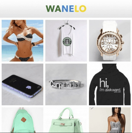 Apps Like Wish That Are Good For Shopping Online | Wanelo | Appamatix.com