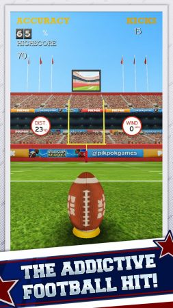 Best Apps To Play With Friends | Flick Kick Field Goal Kickoff | Appamatix.com