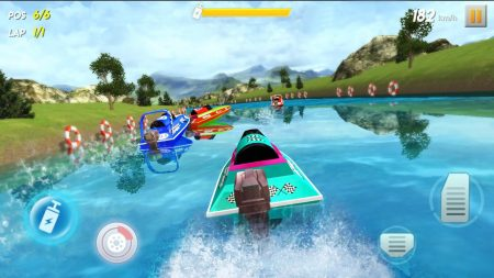 Best Apps To Play With Friends | Powerboat Racing 3D | Appamatix.com