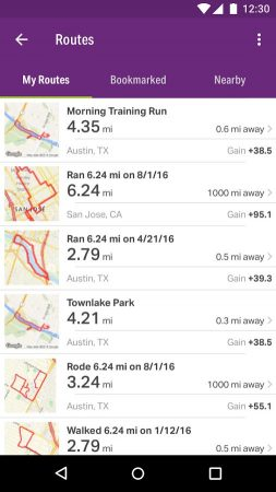 apps for runners - walking