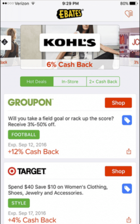 Genius Shopping Apps You Need To Download ASAP | Ebates | Appamatix.com