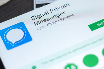 Signal Encrypted Messaging