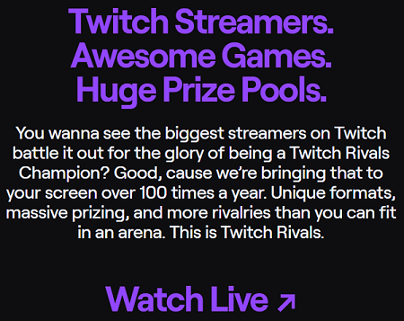 Twitch Rivals 1-2