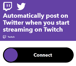Twitch Twitter Automatic Post