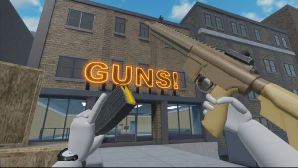 Juego Roblox VR Edgeworks